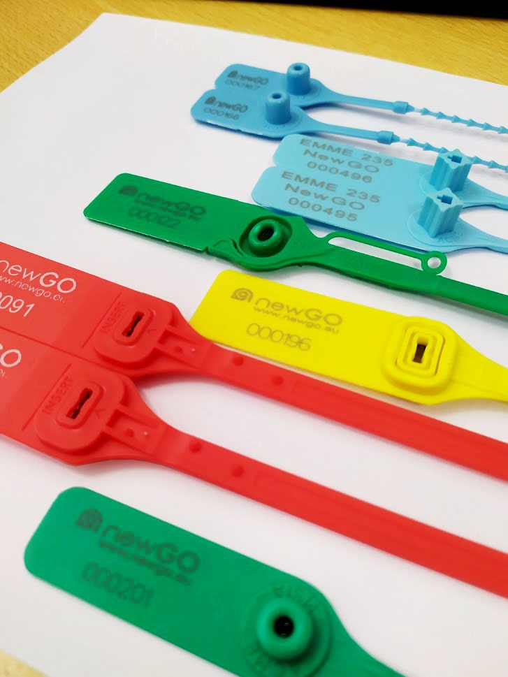 Selos de Segurança Biodegraveis