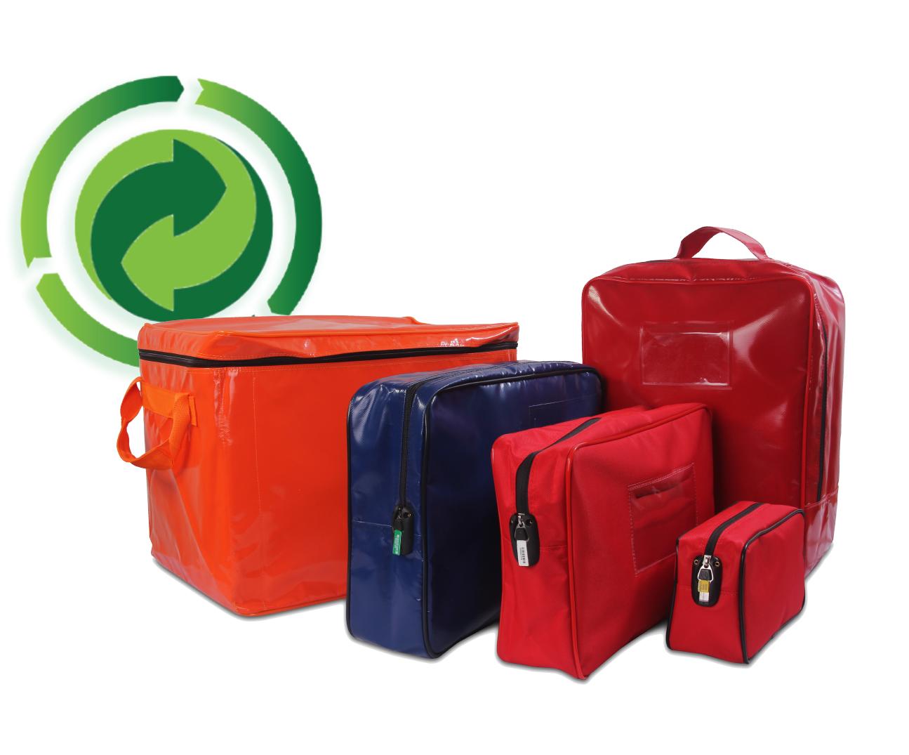 Bags con logo reciclable
